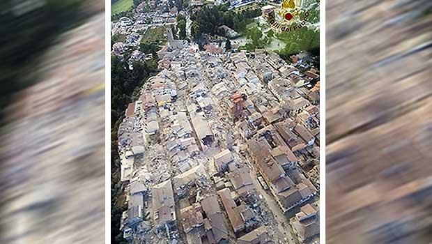 Source: Italian Firefighters Vigili del Fuoco/AP