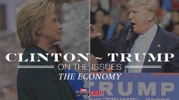 Source: HillaryClinton.com/DonaldJTrump.com