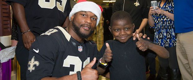 Source: New Orleans Saints & Ochsner Hospital for Children