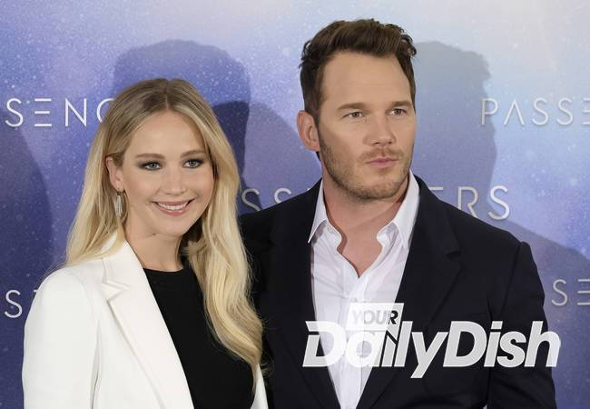 Chris Pratt on co-star Jennifer Lawrence: