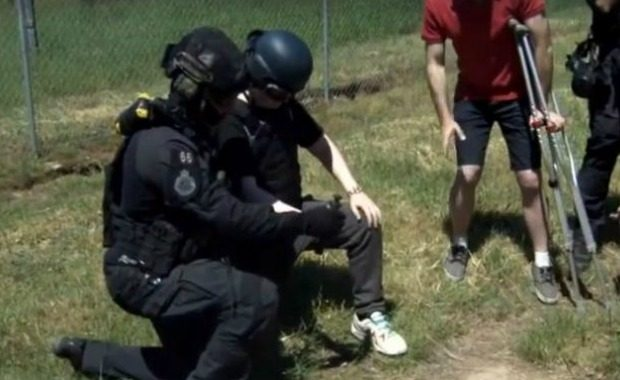 Source: You Tube/ACT Policing