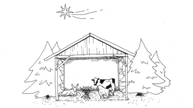 empty nativity