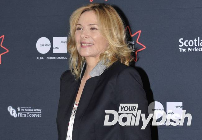 Kim Cattrall angers family by installing new headstone with her name engraved on it
