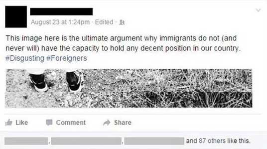 Racist Banker