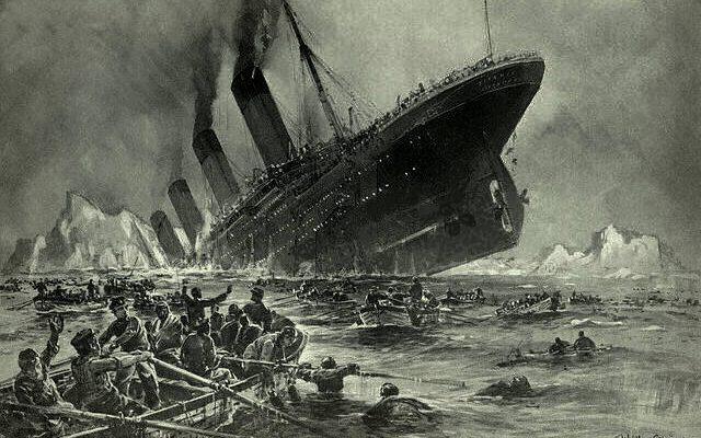 Fire Sunk Titanic