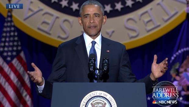 Obama's Farewell Letter