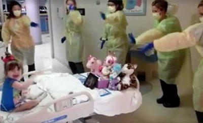 nurses hokey pokey