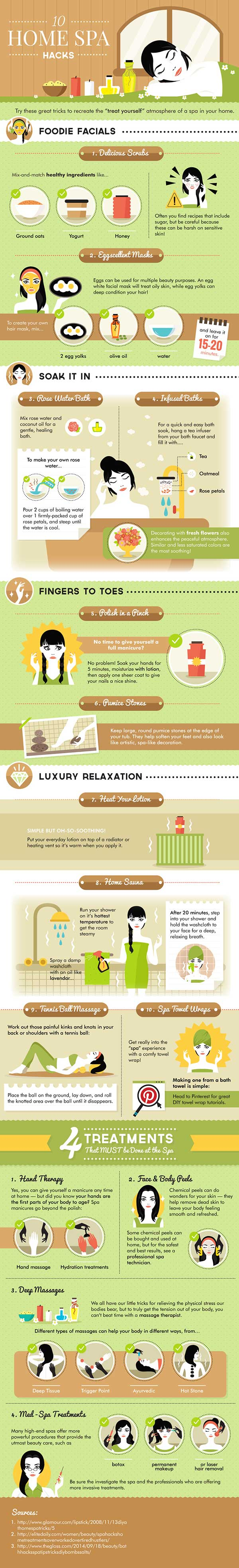 Home Spa Hacks
