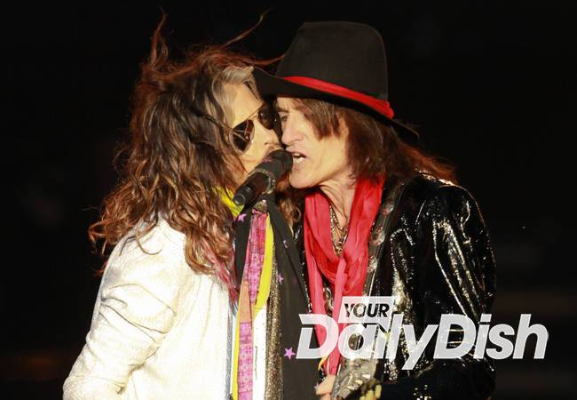 Aerosmith stars become new grandfathers on the same day
