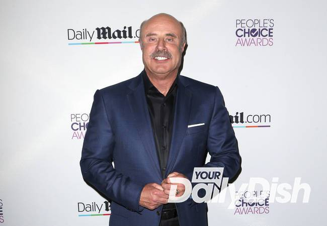 Dr. Phil injured in dirt bike accident