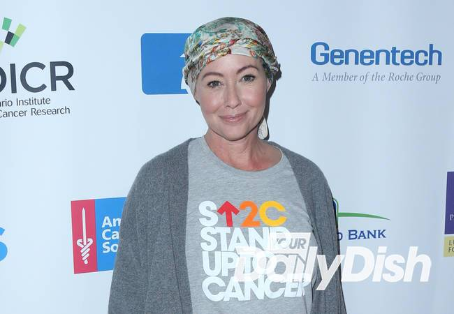 Shannen Doherty thanks fans for support after conquering cancer