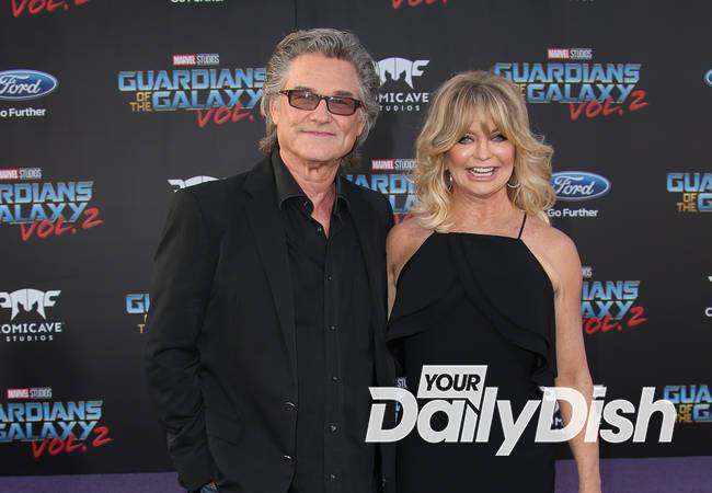Kurt Russell & Goldie Hawn to be honored at double star ceremony