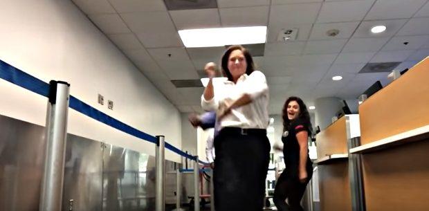 missed flight dance video