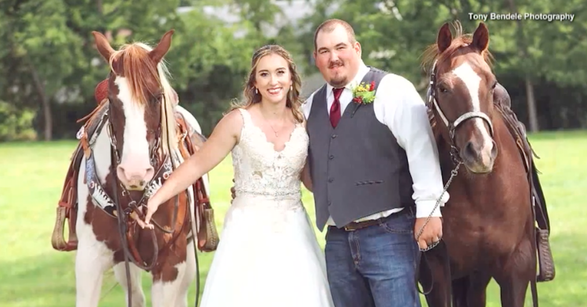 Patti Womer horse wedding